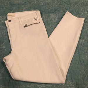 Gap - true skinny ankle jeans with zipper detail